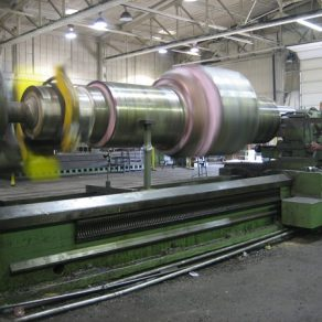 Machining 4000 Ajax Eccentric shaft