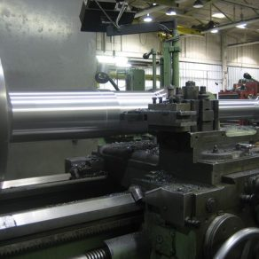 Manufacturing a new crankshaft
