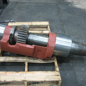 Main shaft assembly after repair