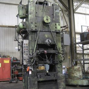 600 Ton Minster Knuckle press coming in for a rebuild