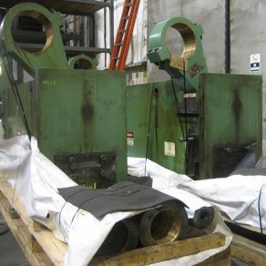Repairs made to presses before shipping to India