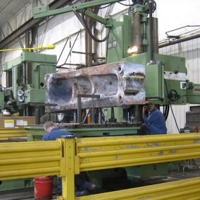 Machining Ceco column