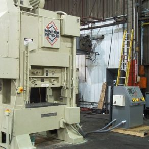 Minster High speed press rebuild