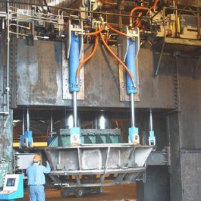 1400 Ton Hydraulic press modernization