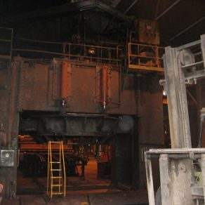 1400 Ton Hydraulic press before modernization