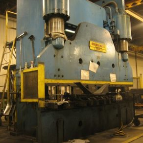 500 Ton Cincinnati brake press