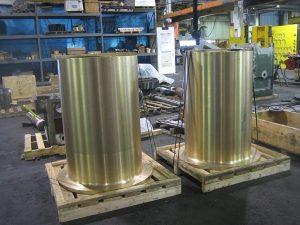 New Brass for main bearings