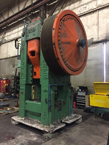 Used 1300 Ton National Forge Press